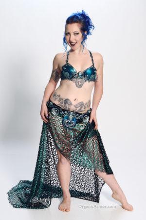 mermaid bra belt sea goddess