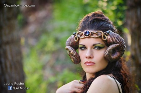 rams horn headdress