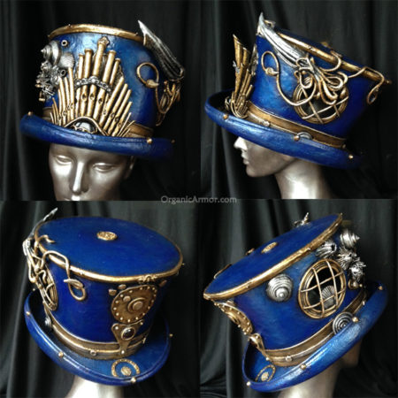 captain nemo top hat steampunk