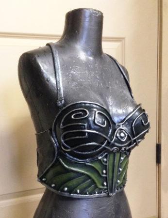 corset warrior celtic