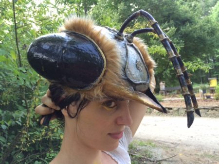 Nara in her bee headdress