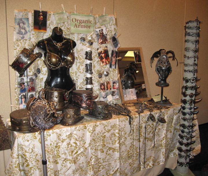 Booth at ConCarolinas