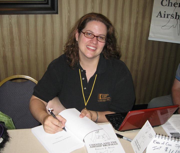 Emilie P. Bush - author of the steampunk novel Chenda and the Airship Brofman