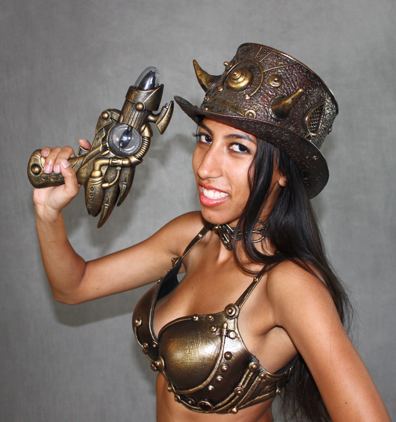 steampunk allegra top hat bra