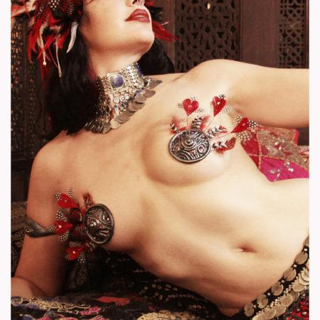 pasties feathers burlesque