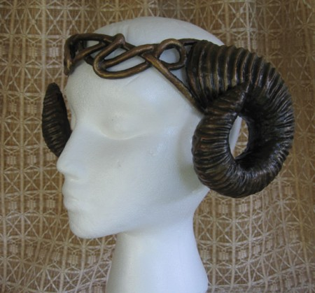 rams horns headdress