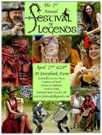 festival of legends north carolina