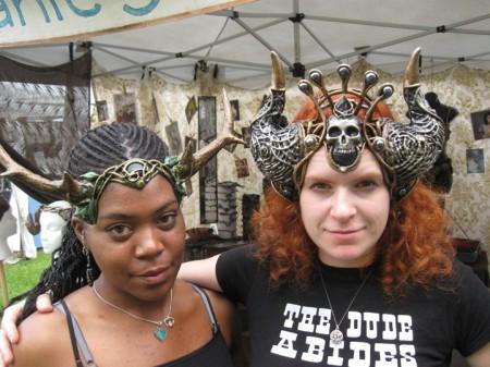 skull hathor horns cernunnos antlers costume