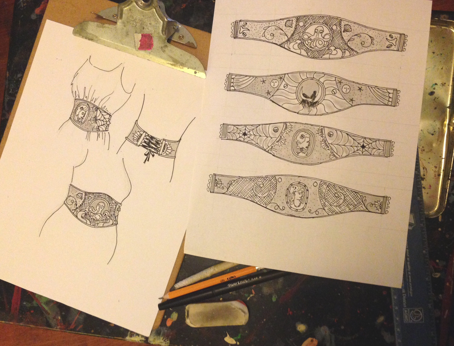 cincher sketches